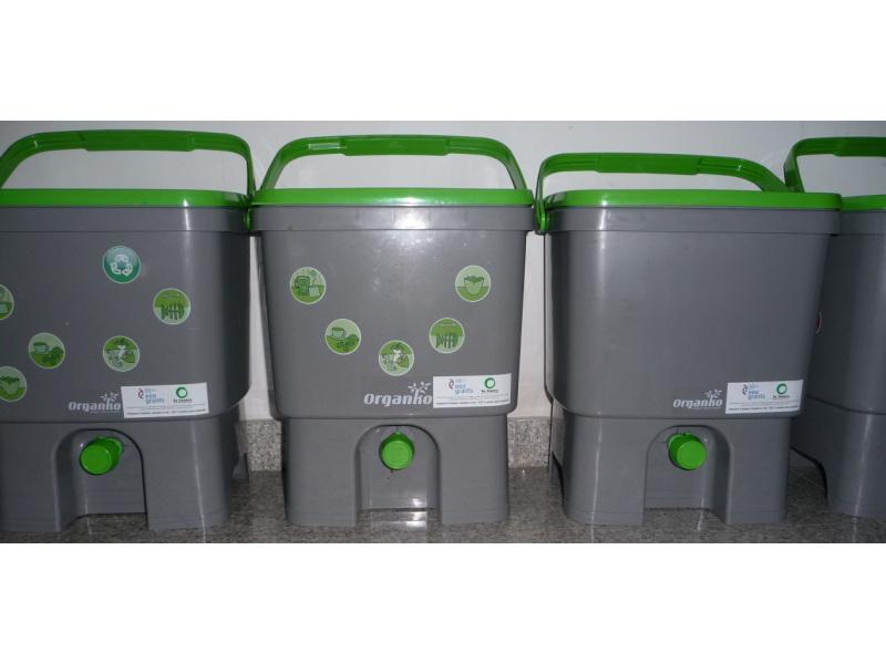 Ефективни микроорганизми Бокаши контейнери